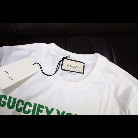 6f3f9a203 Gucci Shirts | Fy Yourself Tshirt | Poshmark